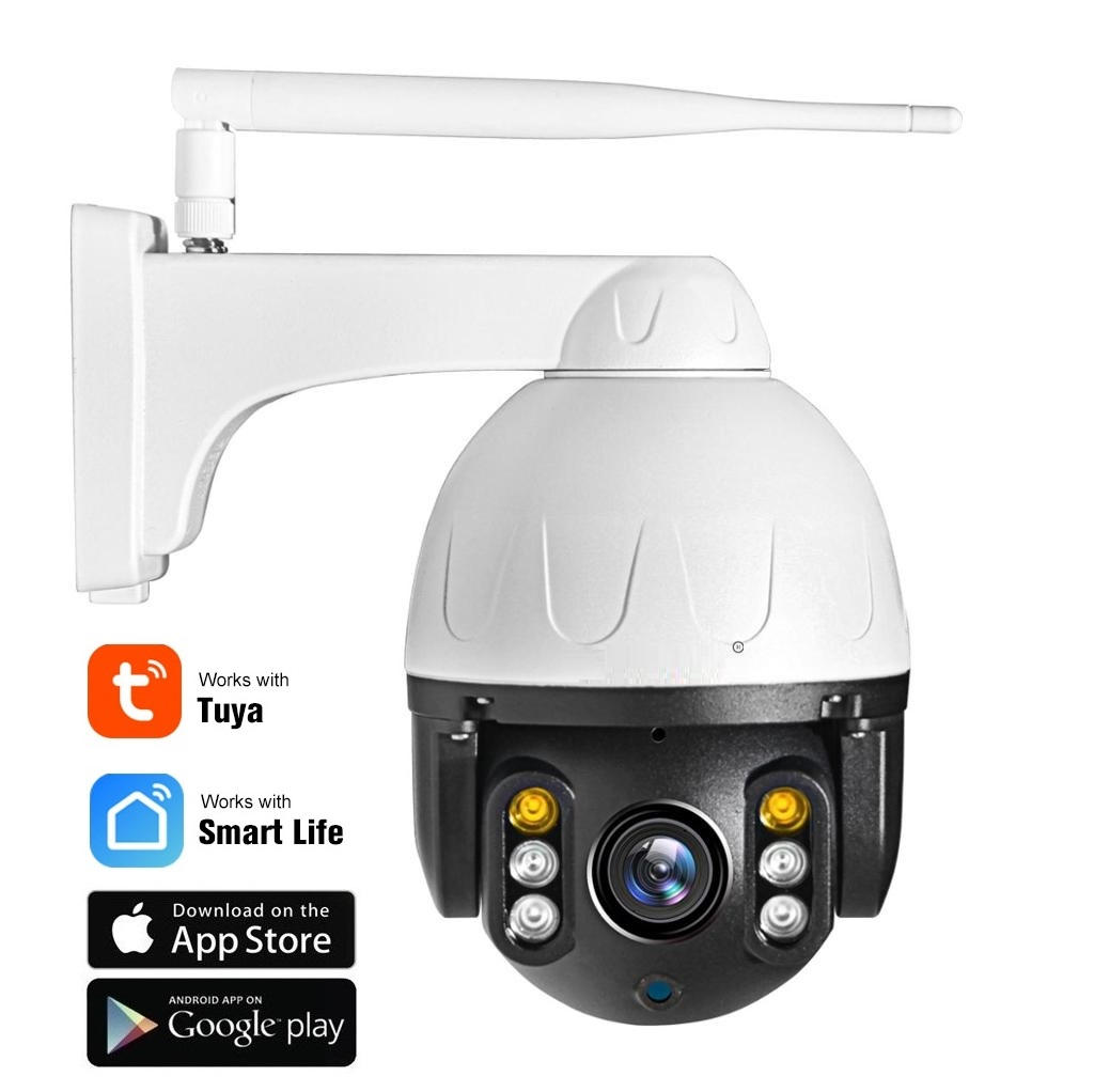 2.0 Mpx WiFi mini otočná IP kamera FULL HD 1080P - TUYA